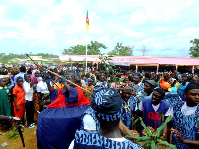 Danse traditionnelle au Cameroun
