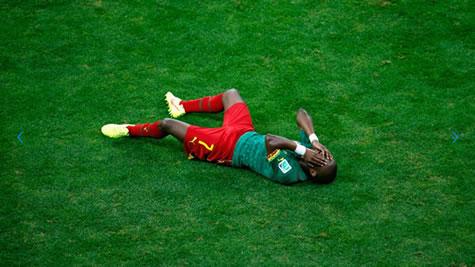 l'élimination du cameroun au mondial 2014